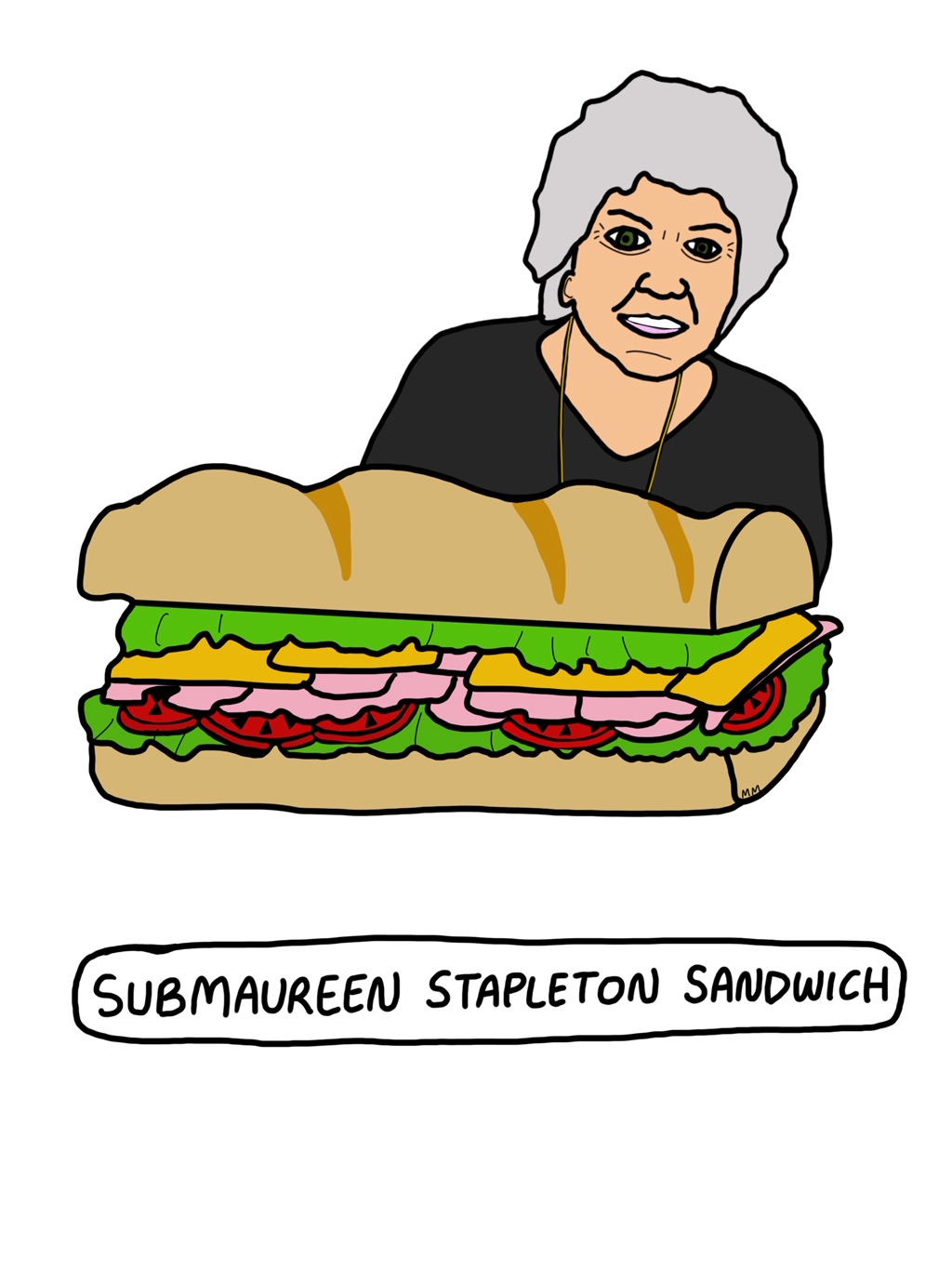 Submaureen Sandwich