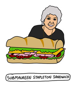 Submaureen Sandwich