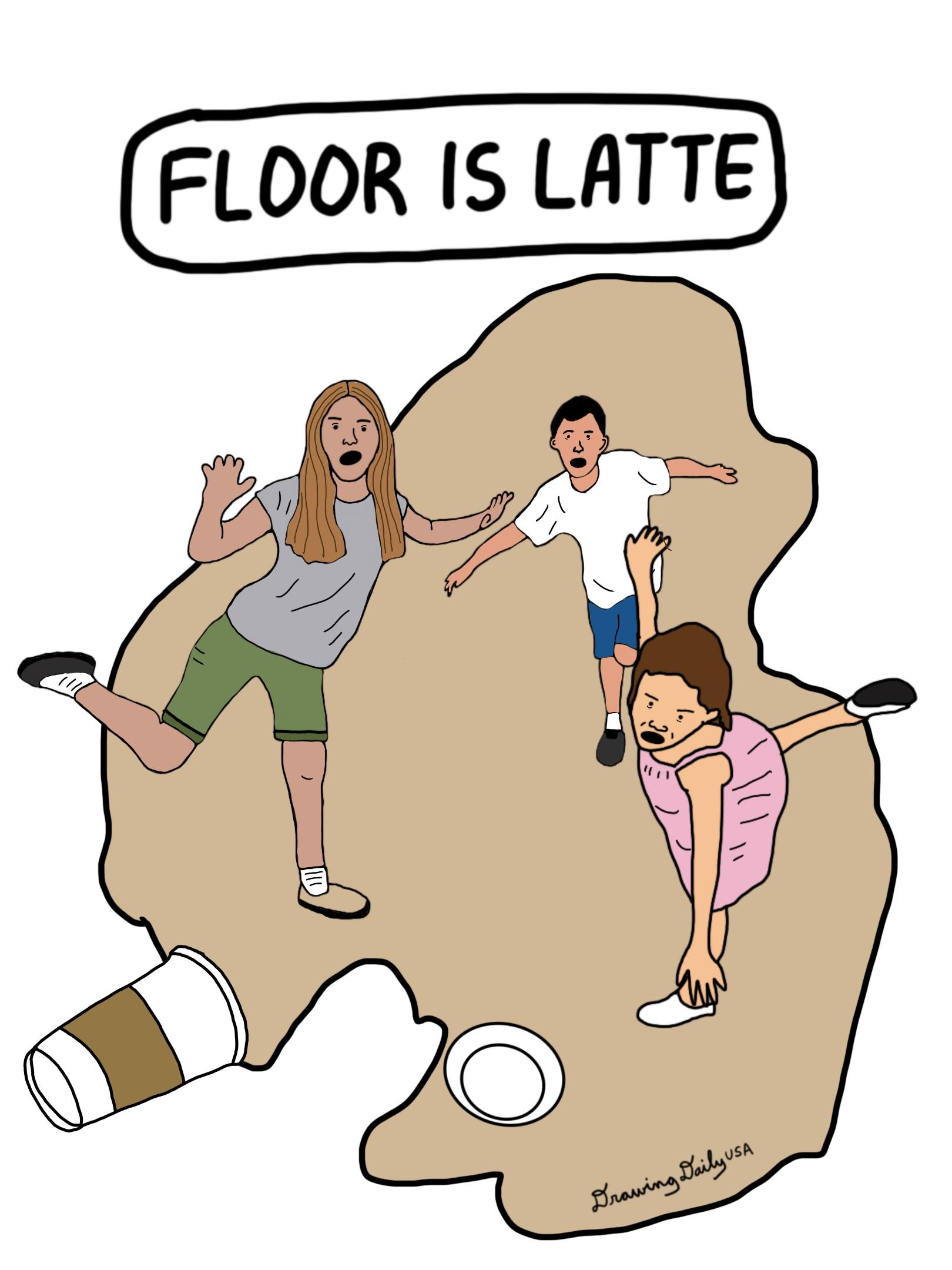 Floor is Latte
