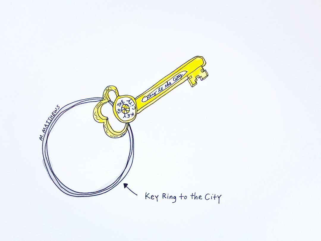 Key Ring to the City