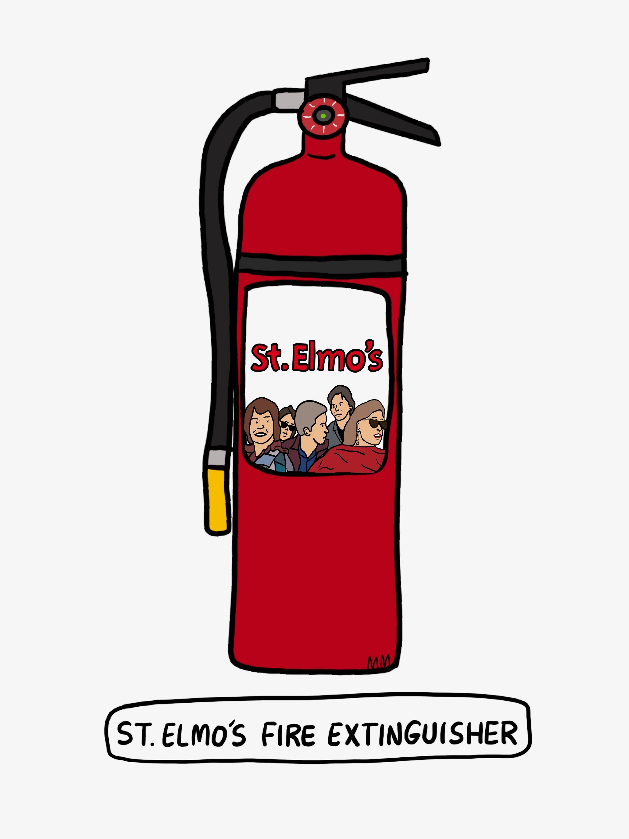 St. Elmo's Fire Extinguisher