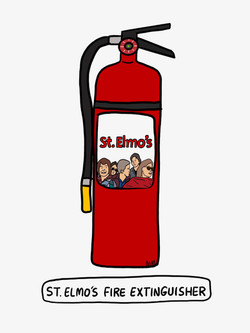 St. Elmo's Fire Extinguisher
