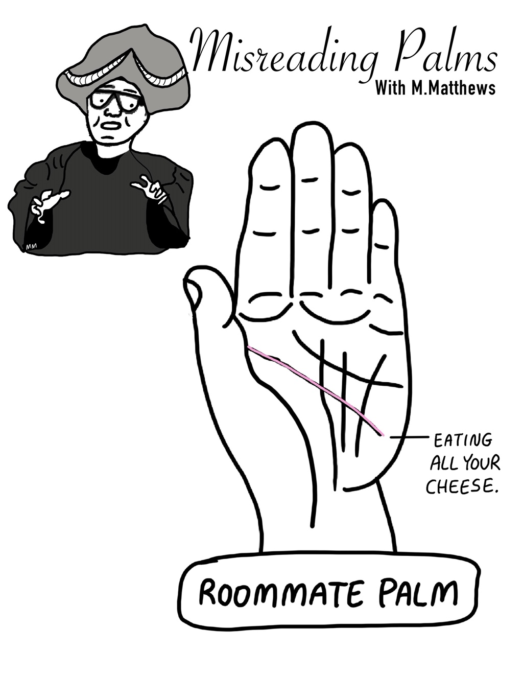 Misreading Palms