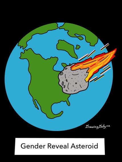 Gender Reveal Asteroid