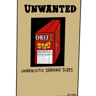 Unwanted: Serving Sizes