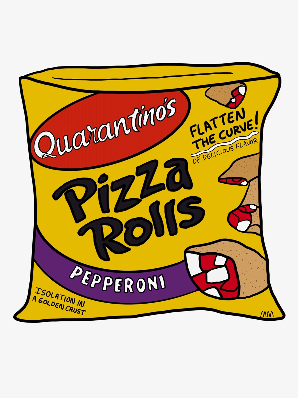 Quarantino's Pizza Rolls