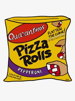 Quarantino's Pizza Rolls