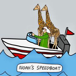 Noah's Speedboat
