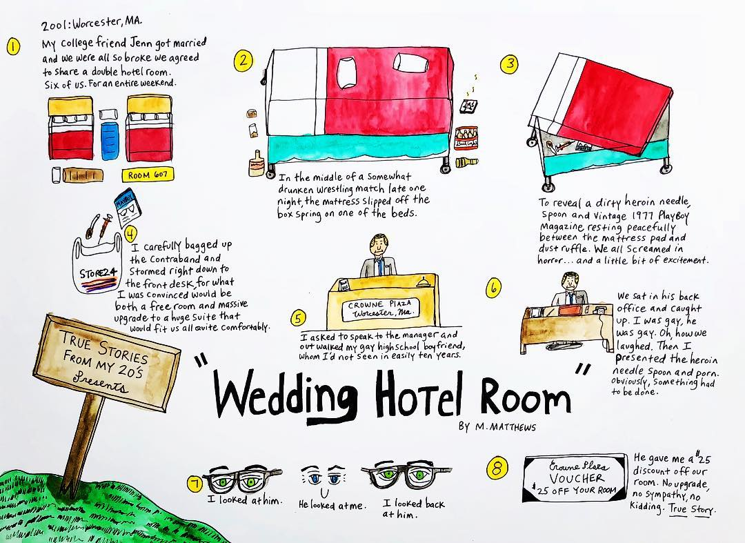 True Story: Wedding Hotel Room