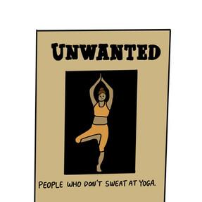 No Yoga Sweat
