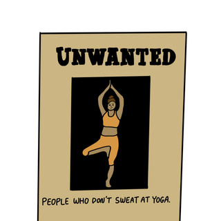 No Yoga Sweat
