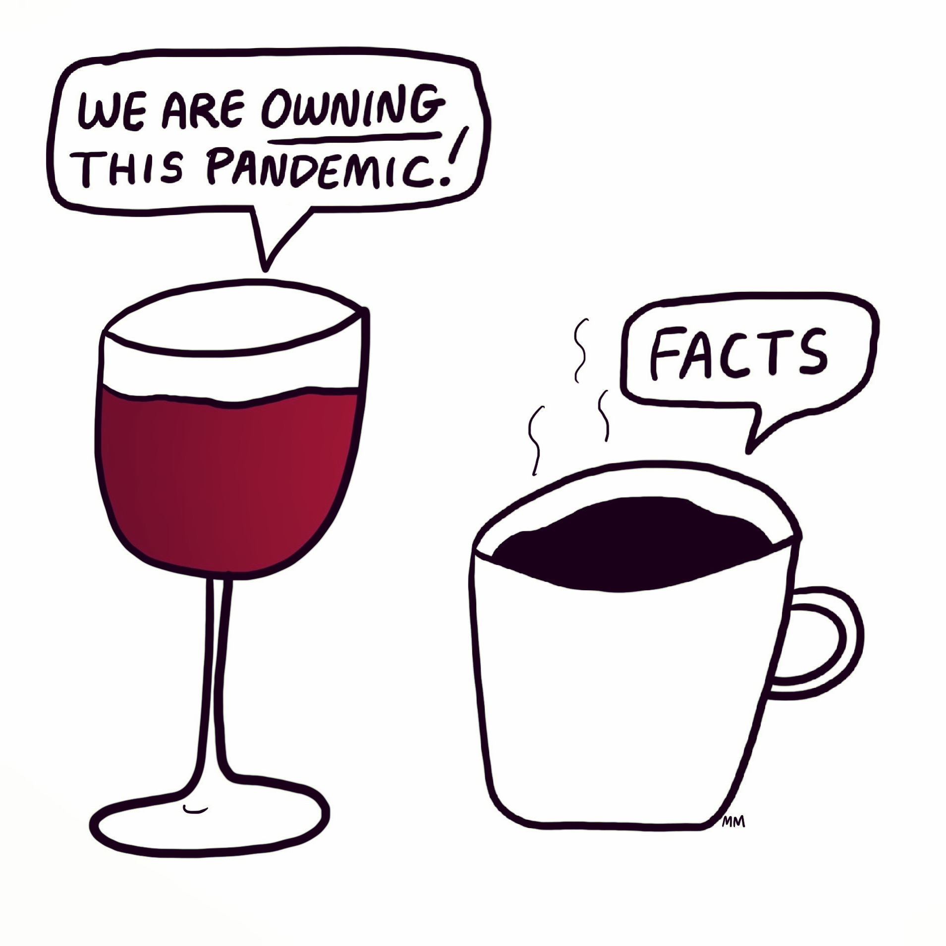 Wine. Coffee. Repeat.