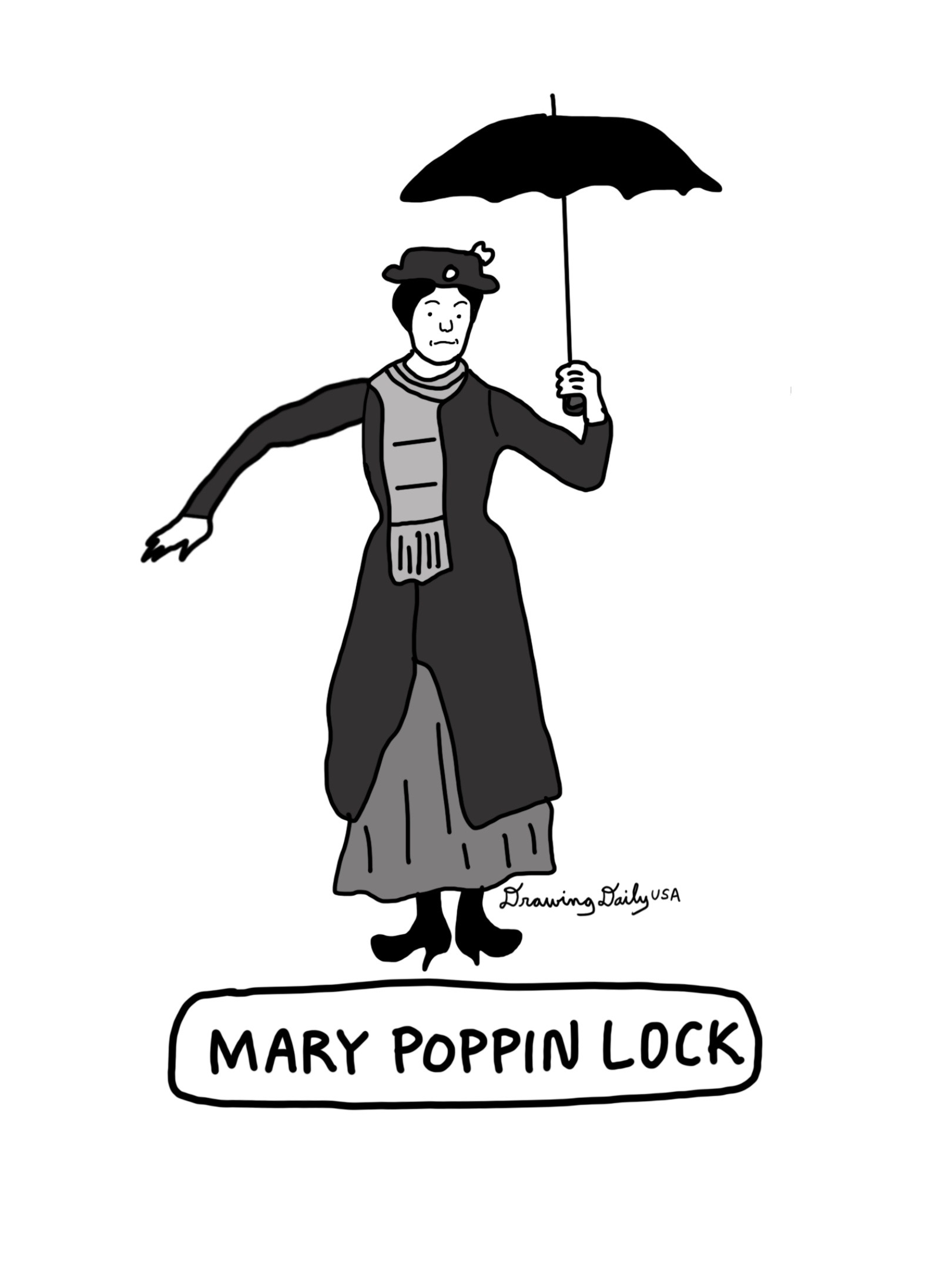 Mary Poppin Lock