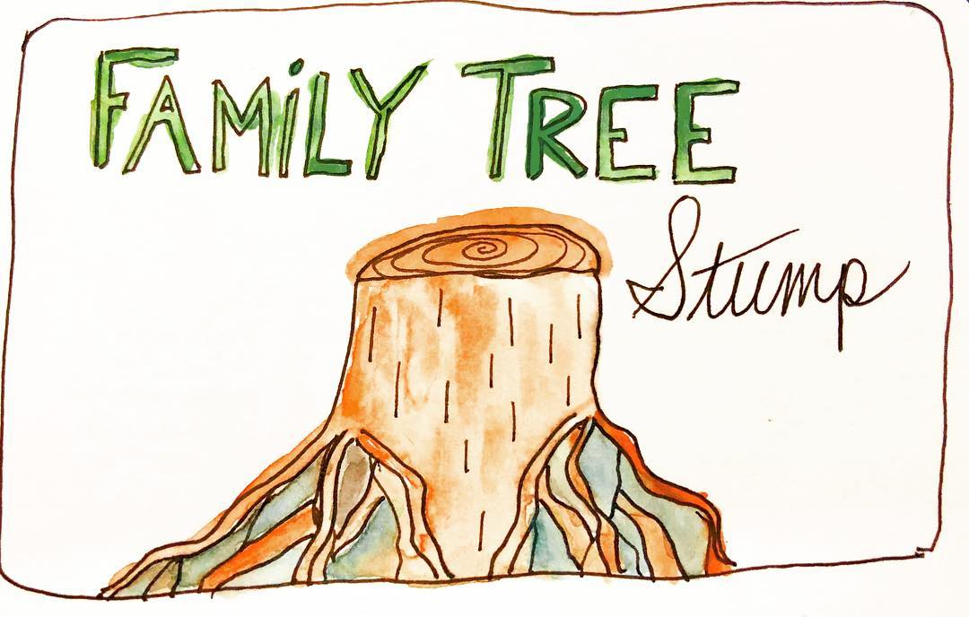 Family Tree Stump