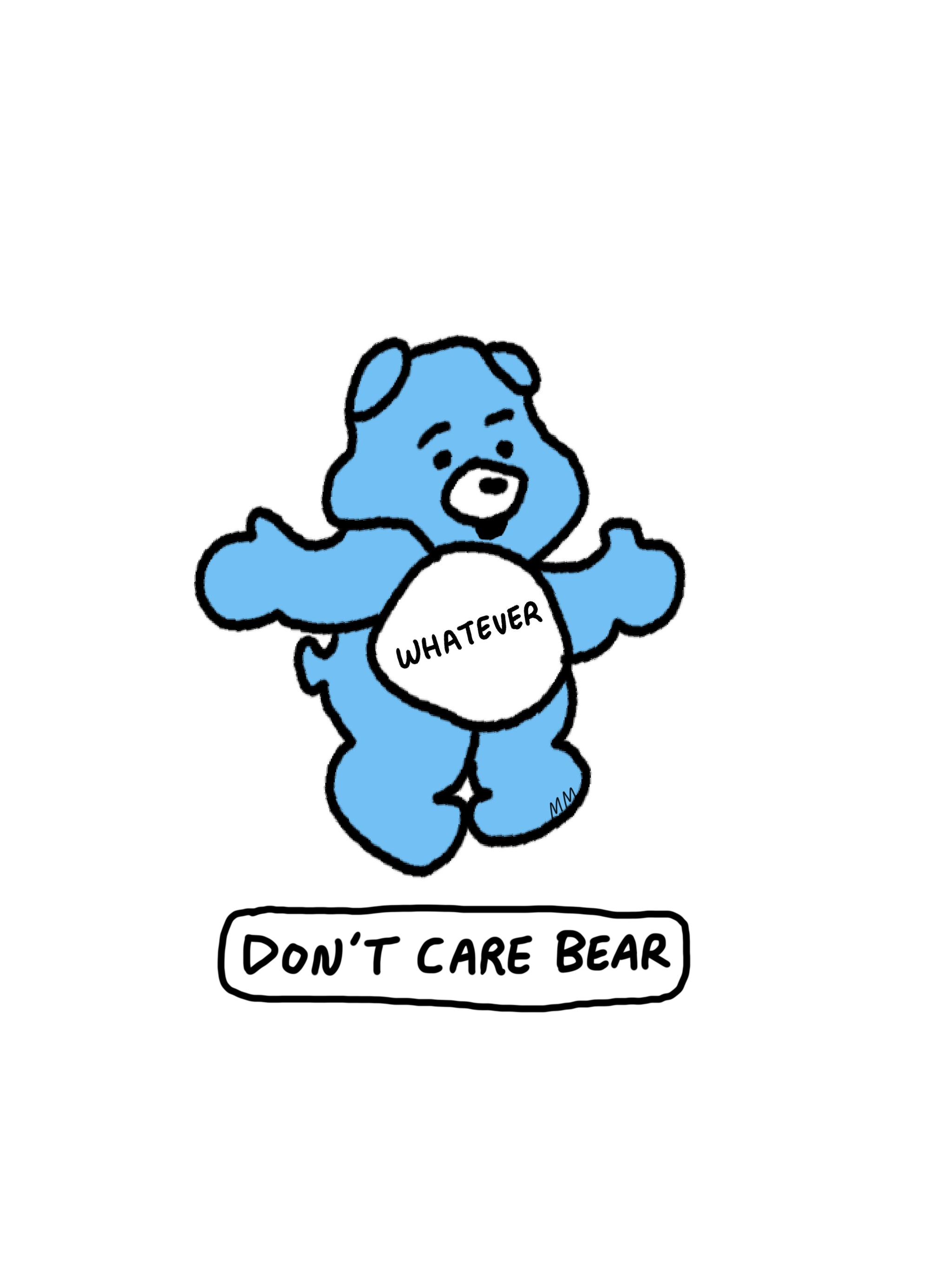 Don't Care Bear