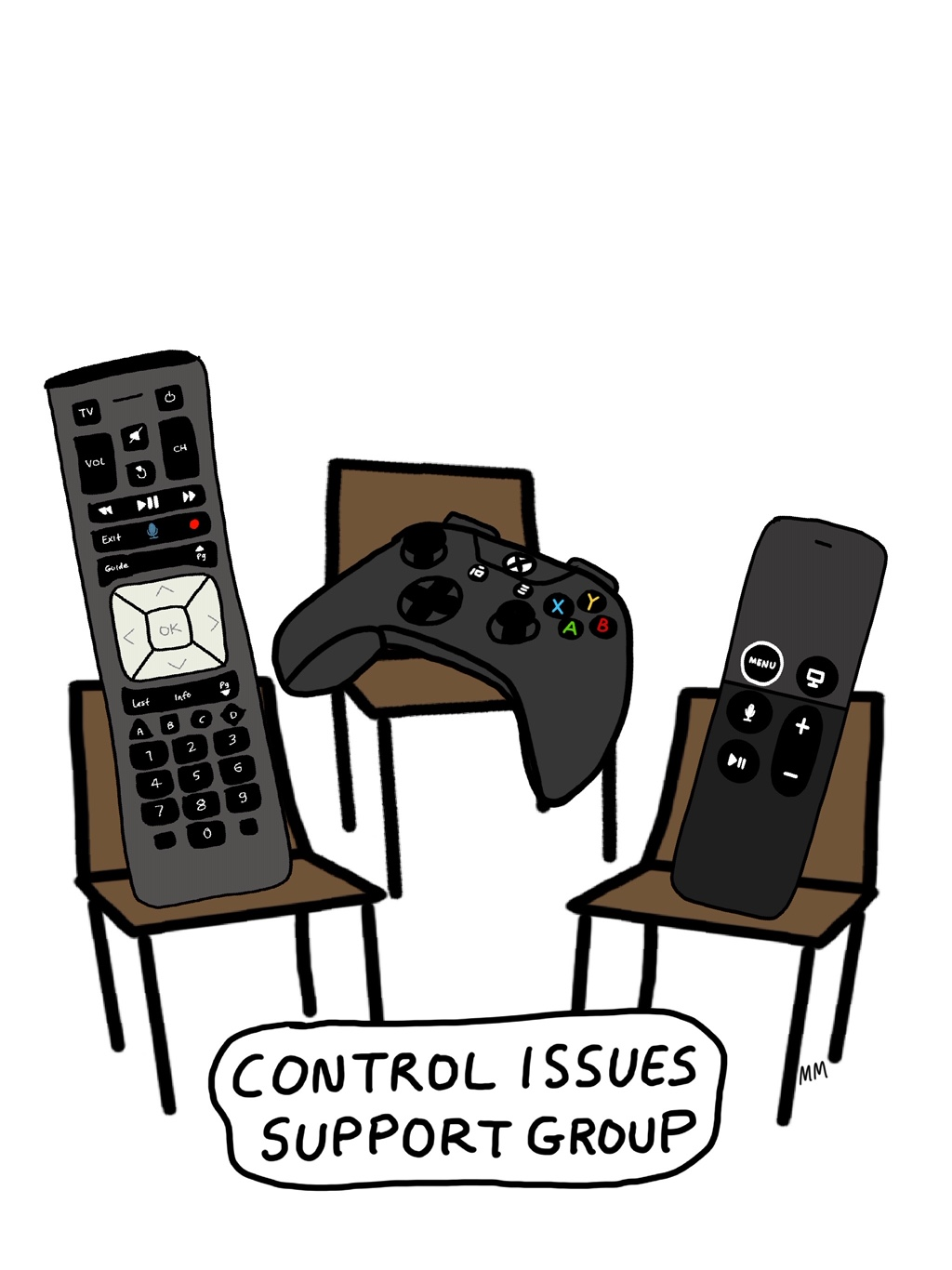 Control Issues Support Group