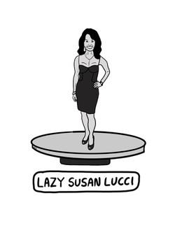 Lazy Susan Lucci