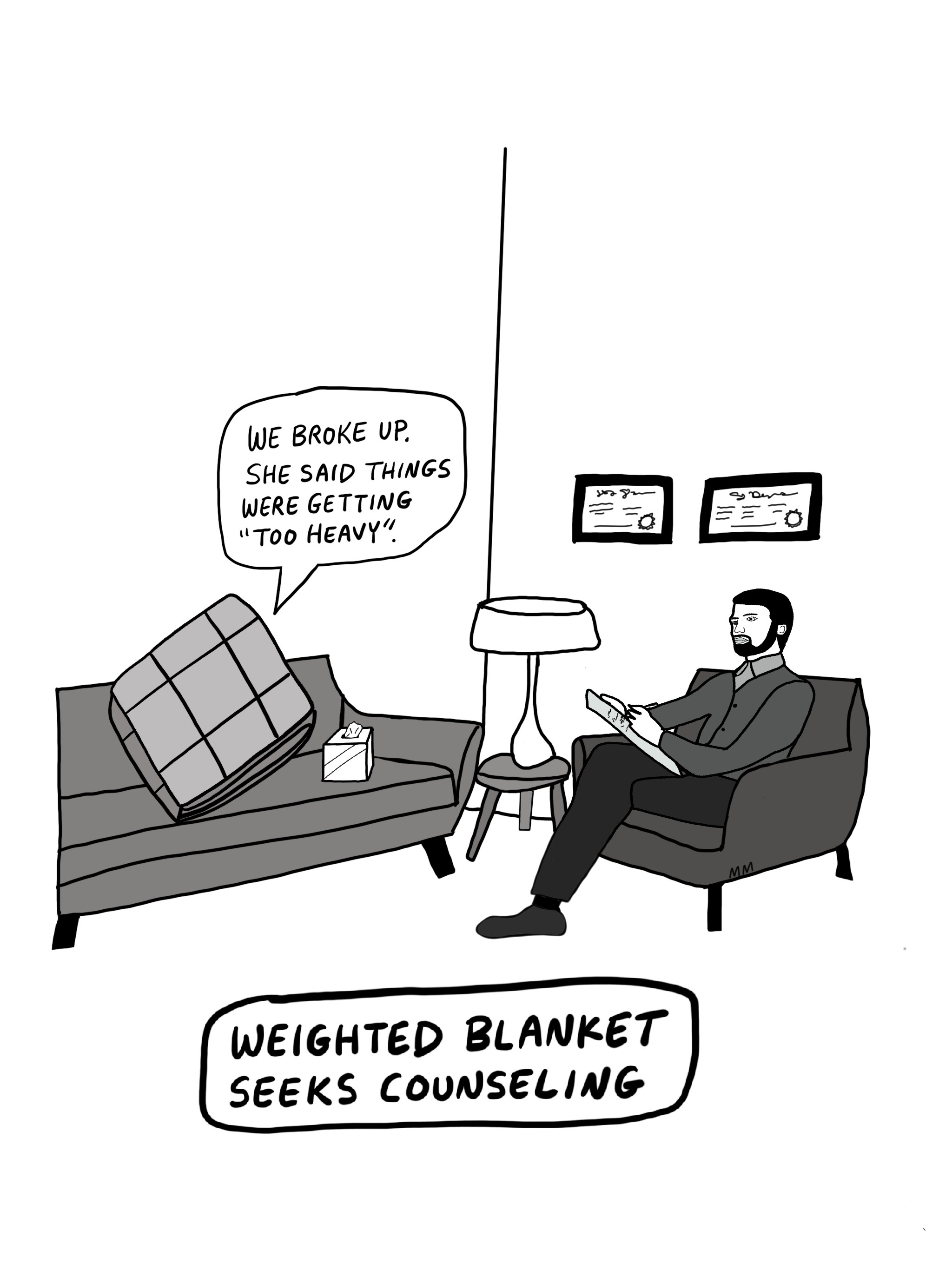 Weighted Blanket Counseling