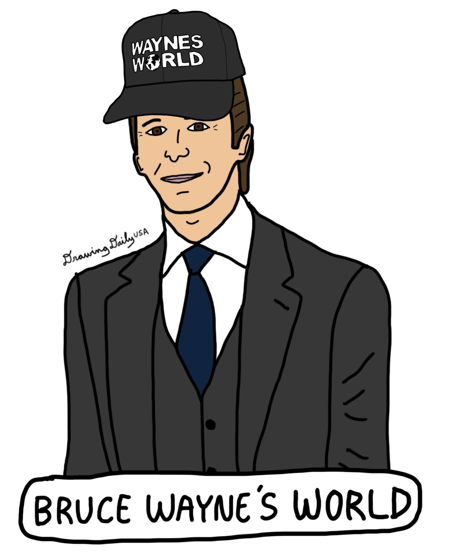 Bruce Wayne's World