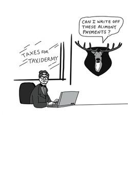 Taxidermy Taxes