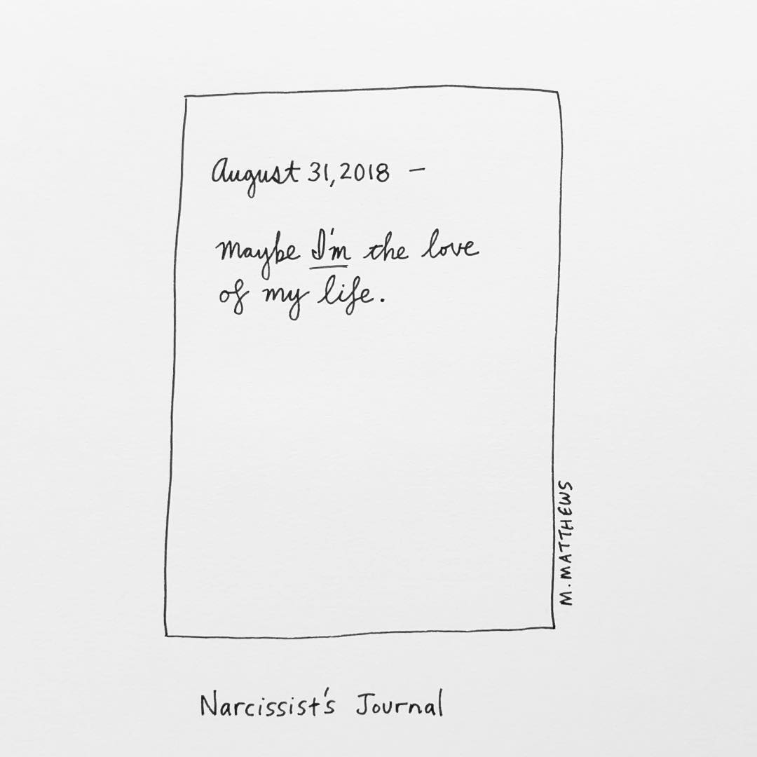 Narcissist's Journal