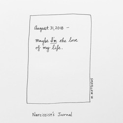 Narcissist's Journal