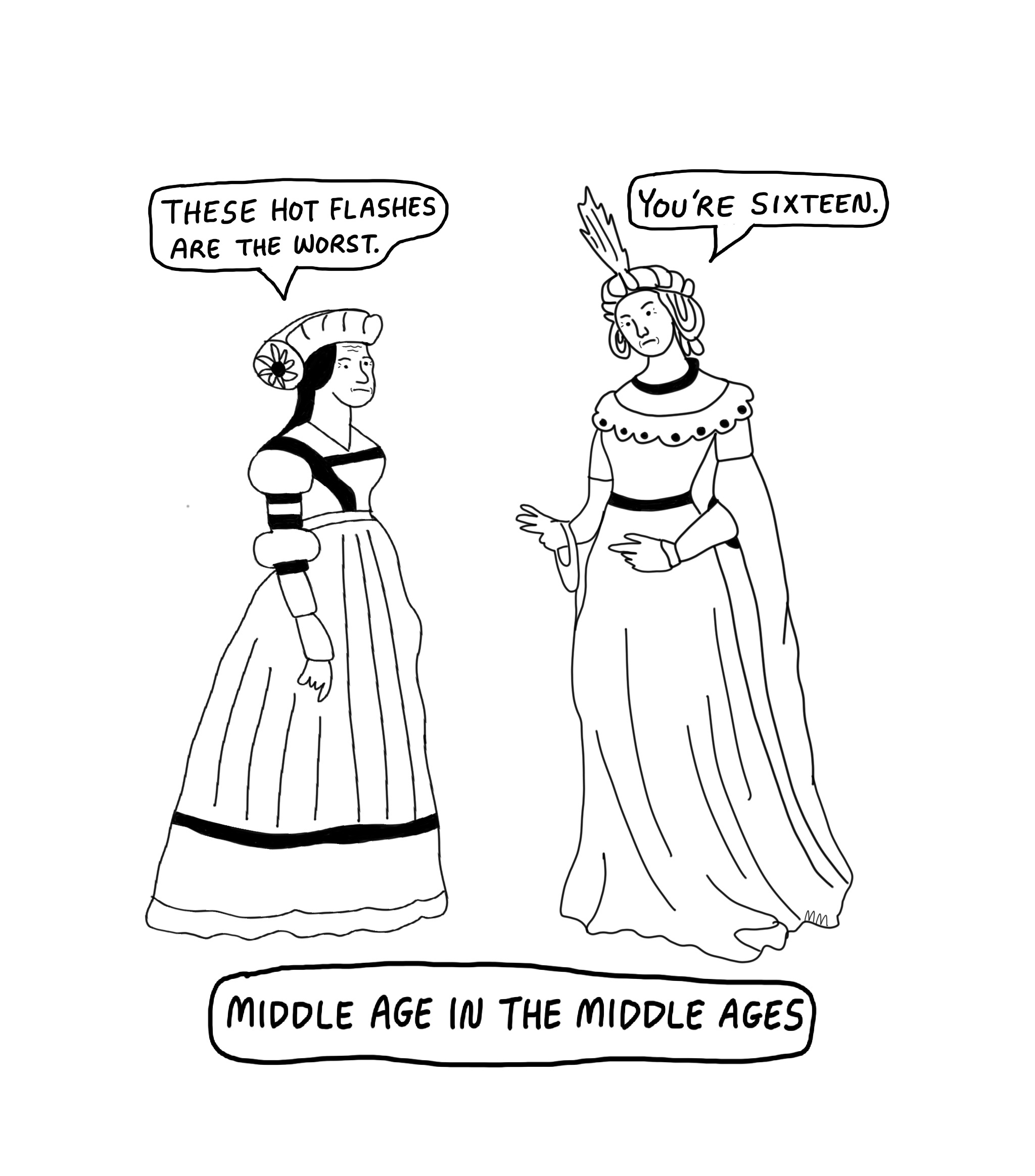 Middle Age in the Middle Ages