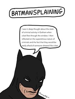 Batmansplaining