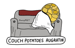 Couch Potatoes Augratin