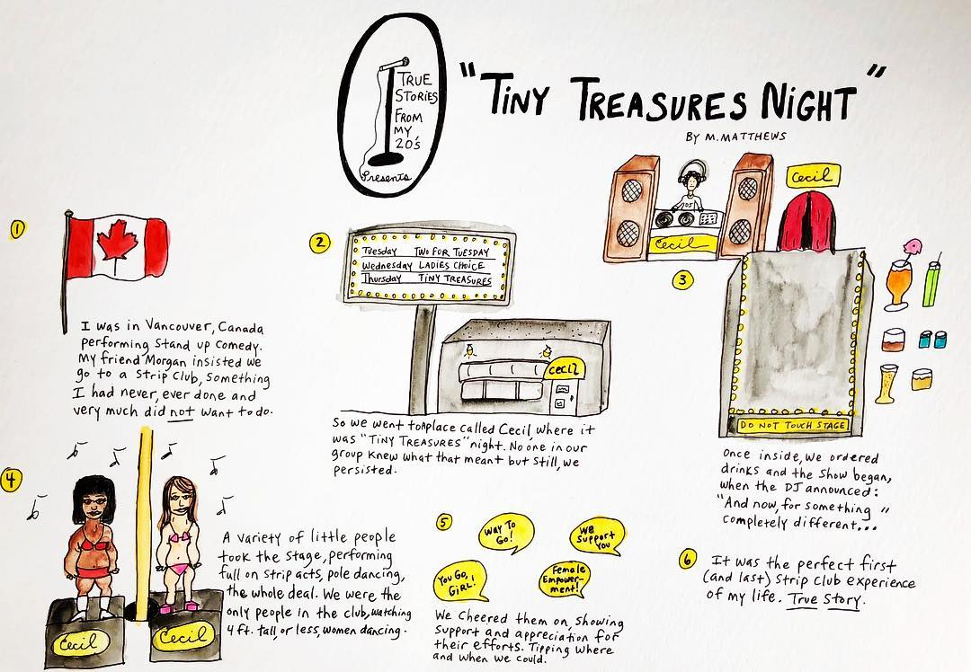 True Story: Tiny Treasures Night