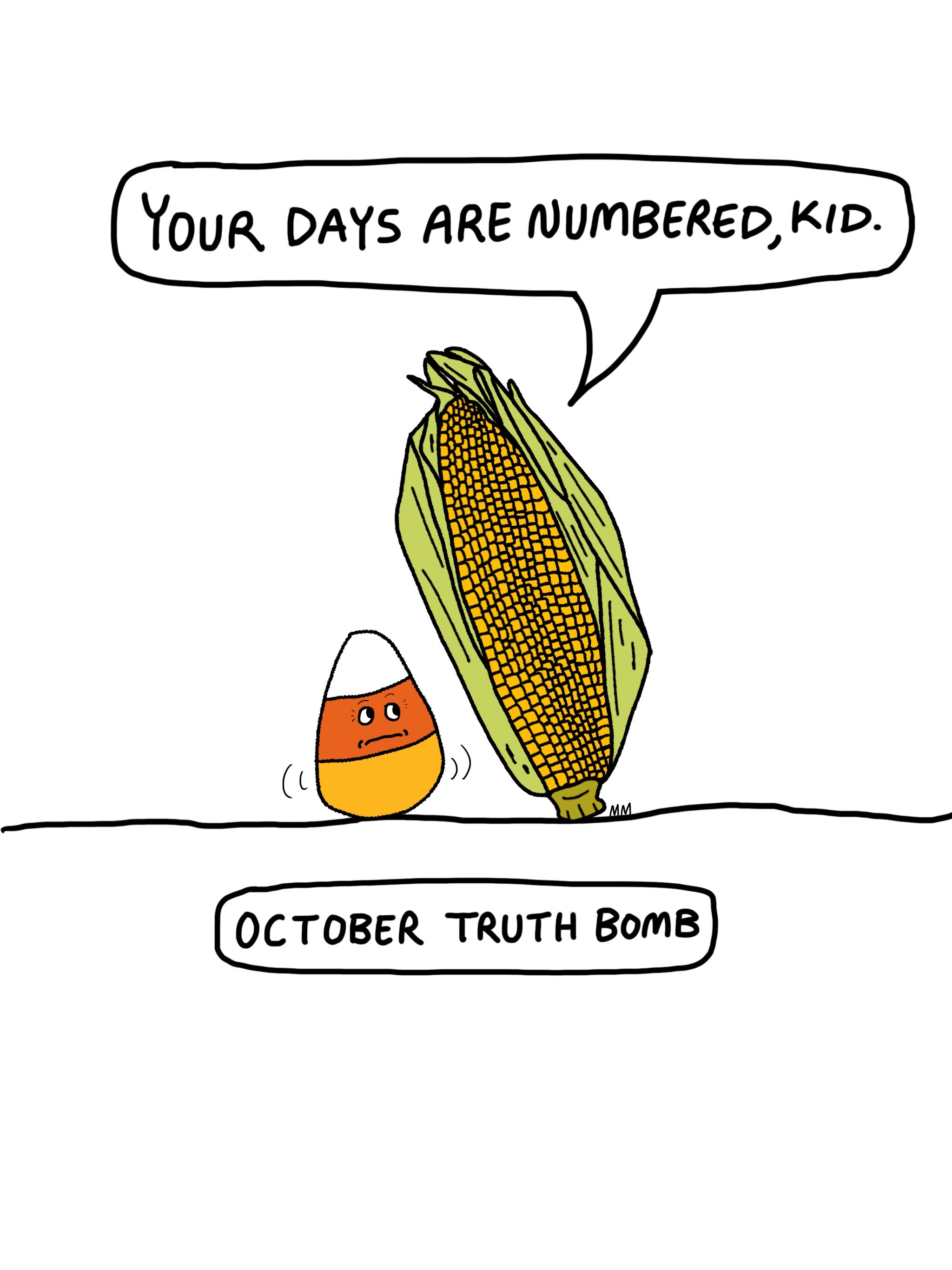 October Truth Bomb