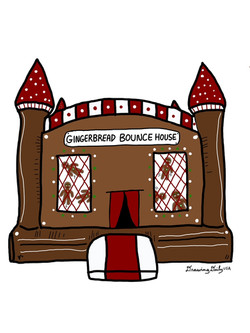 Gingerbread Bounce House