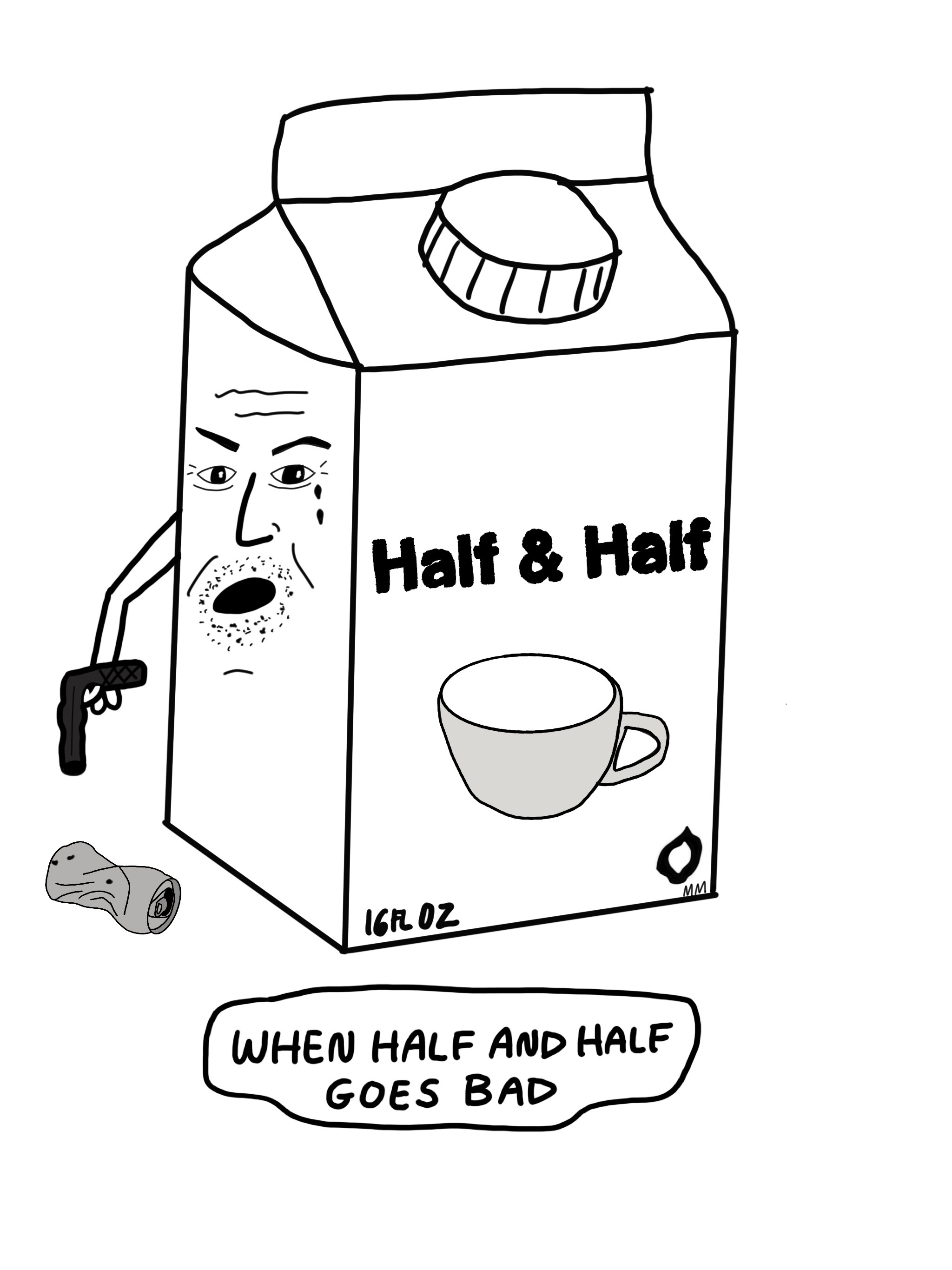 When Half & Half Goes Bad