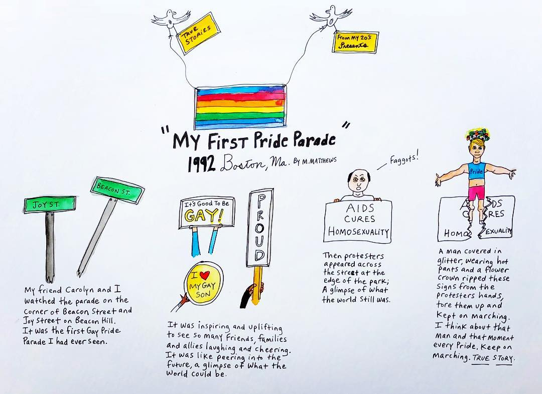True Story: First Pride