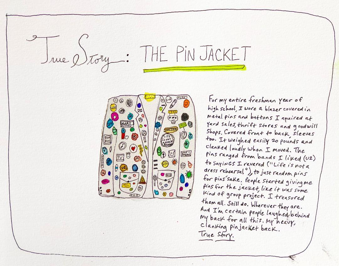 True Story: Pin Jacket