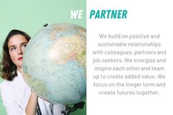 We partner