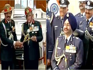 Bipin Rawat takes charge as Army Chief, Birender Singh becomes Air Force Chief