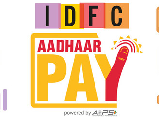 IDFC Bank unveils Aadhaar Pay to ease cashless pay