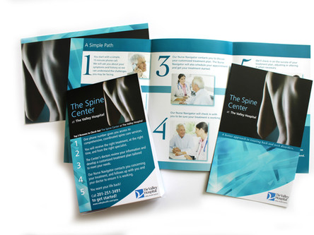 Spine Center Brochure