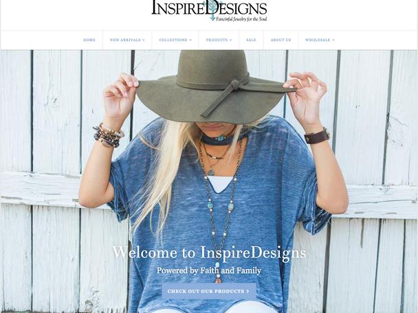 InspireDesigns Website