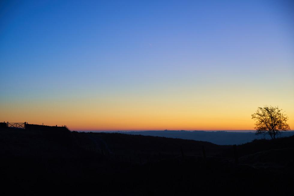 Dawn at Curbar