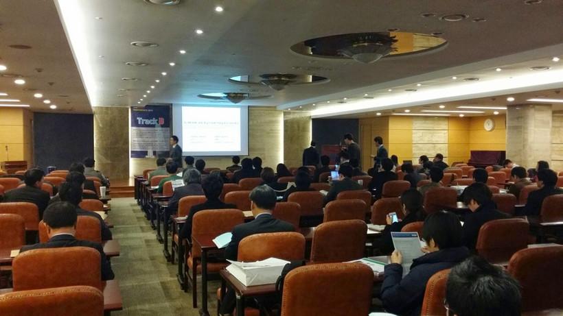 2014년 빌드스마트 컨퍼런스,  '국내 비정형 건축물의 IPD 도입사례 및 적용방법 검토' 발표
