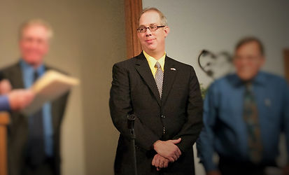 Pastor Andy Grunder