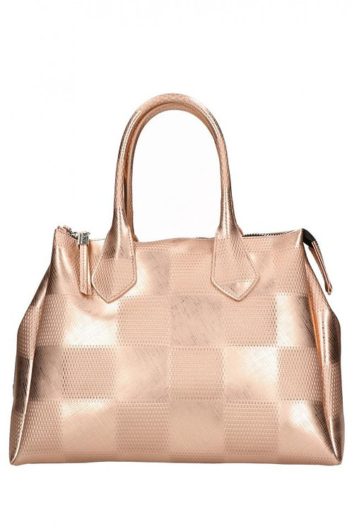 GUM GIANNI CHIARINI MEDIUM TOTE- METALLIC GEO