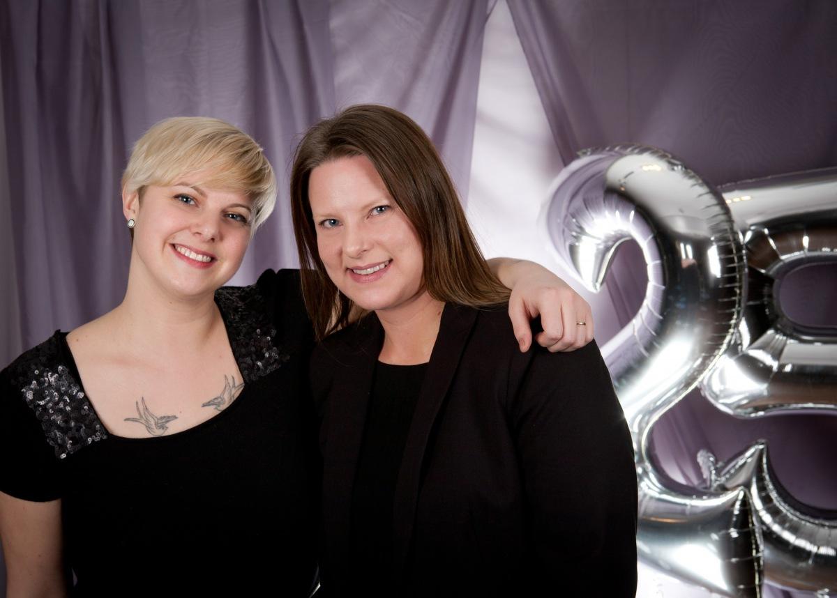 Silver Lining Gala Photo Wall