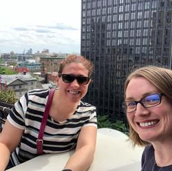 conferencing via rooftops