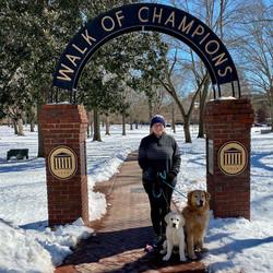 Snow Walk of Champions