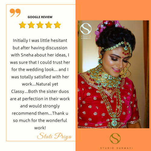 Stuti- Studio-Surmayi-Bride-client testimonial
