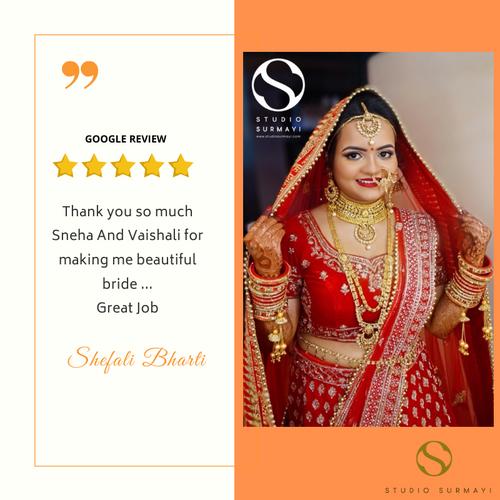 Shefali- Studio-Surmayi-Bride-client testimonial