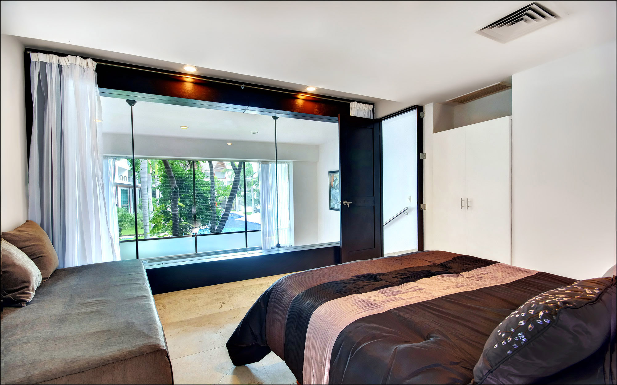 VIEW FROM THIRD BEDROOM